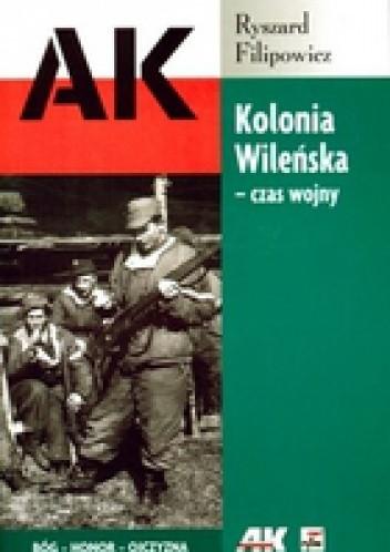 Okładka książki KOLONIA WILEńSKA