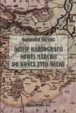 Okładka książki Dzieje kartografii Nowej Marchii do Końca XVIII wieku