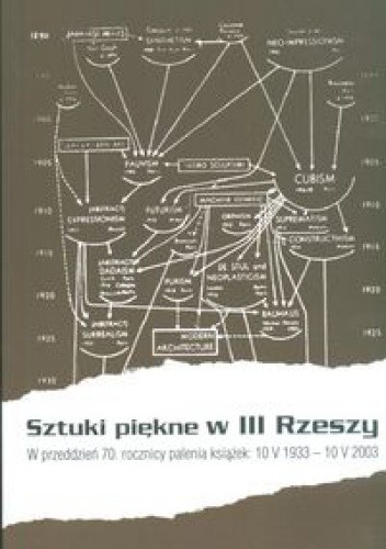 Okładka książki Sztuki piękne w III Rzeszy - Orłowski Hubert (red.)