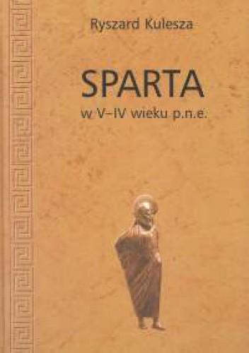 Okładka książki Sparta w V-IV wieku p. n. e.