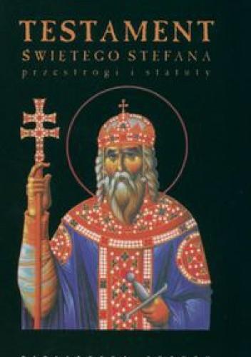 Okładka książki Testament Świętego Stefana