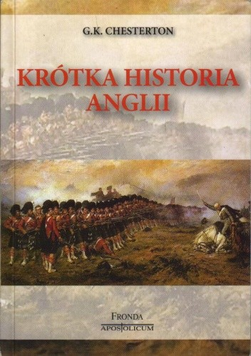 Okładka książki Krótka historia Anglii