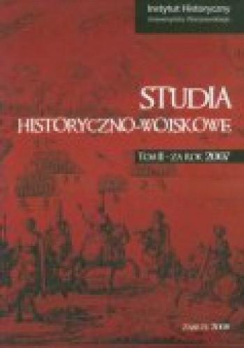 Okładka książki Studia historyczno - wojskowe. (TOM 2)