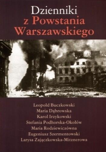 Okładka książki Dzienniki z Powstania Warszawskiego