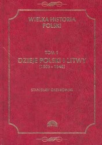Okładka książki Dzieje Polski i Litwy (1505-1648)