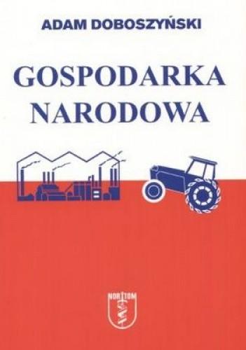 Okładka książki Gospodarka narodowa