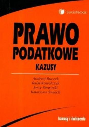Okładka książki Prawo podatkowe Kazusy /Kazusy i ćwiczenia/