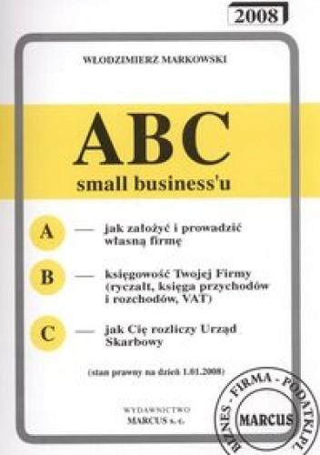 Okładka książki ABC small businessu  2008