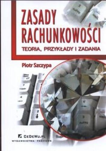Okładka książki zasady rachunkowości. Teoria, przykłady i zadania