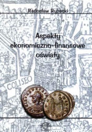 Okładka książki Aspekty ekonomiczno-finansowe oświaty