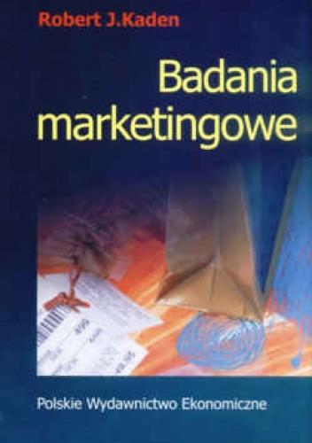 Okładka książki Badania marketingowe