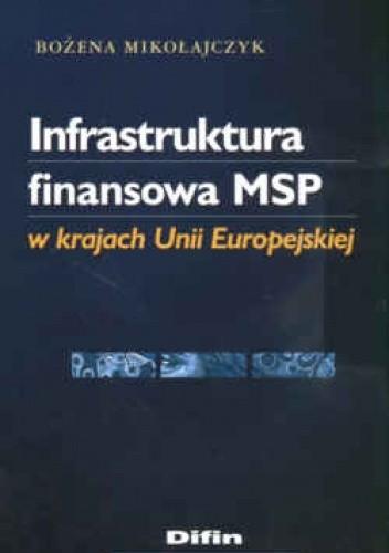 Okładka książki Infrastruktura finansowa MSP w krajach Unii Europejskiej