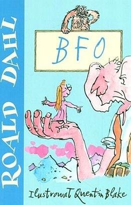 Okładka książki BFO czyli Bardzo Fajny Olbrzym