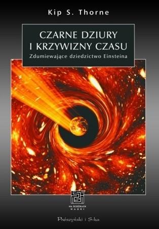 Okładka książki Czarne dziury i krzywizny czasu