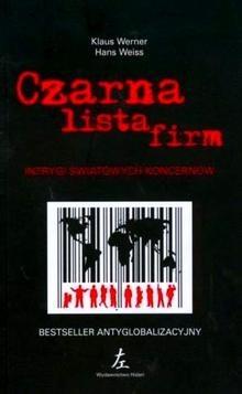 Okładka książki Czarna lista firm