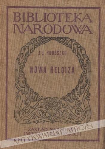 Okładka książki Nowa Heloiza