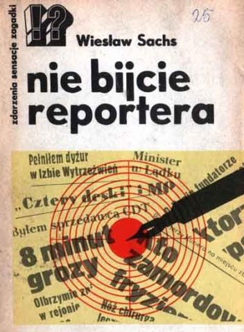 Okładka książki nie bijcie reportera