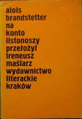 Okładka książki Na konto listonoszy