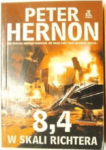 Okładka książki 8,4 w skali Richtera
