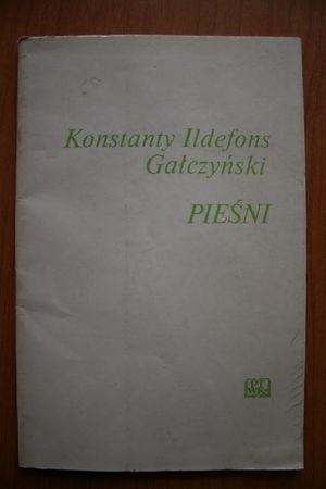 Okładka książki Pieśni