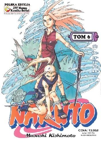 Okładka książki Naruto tom 6 - Decyzja Sakury