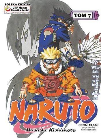 Okładka książki Naruto tom 7 - Właściwie wybrana droga