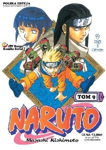 Okładka książki Naruto tom 9 - Neji i Hinata