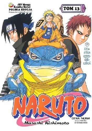 Okładka książki Naruto tom 13 - Koniec ezgaminów