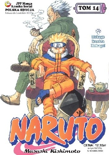 Okładka książki Naruto tom 14 - Hokage kontra Hokage!
