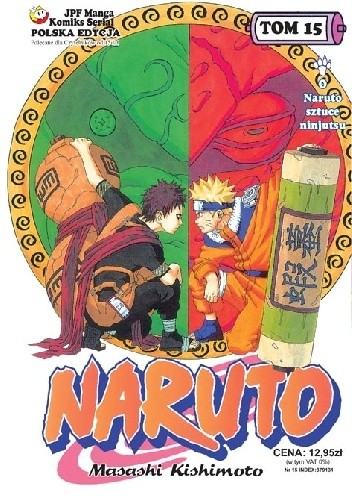 Okładka książki Naruto tom 15 - O Naruto sztuce ninjutsu!