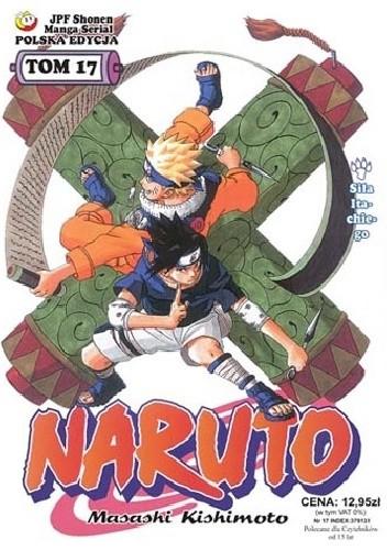 Okładka książki Naruto tom 17 - Siła Itachiego