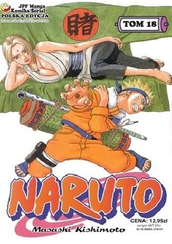 Okładka książki Naruto tom 18 - Decyzja Tsunade