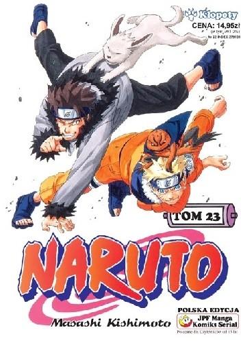 Okładka książki Naruto tom 23 - Kłopoty