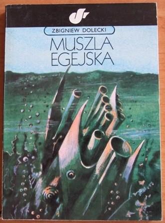 Okładka książki Muszla egejska
