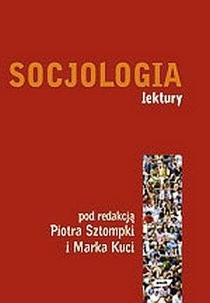 Okładka książki Socjologia. Lektury
