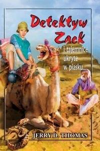 Okładka książki Detektyw Zack i tajemnice ukryte w piasku