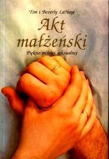 Okładka książki Akt małżeński