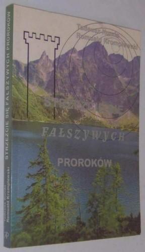 Okładka książki Strzeżcie się fałszywych proroków