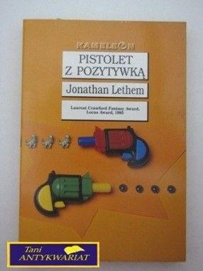 Okładka książki Pistolet z pozytywką