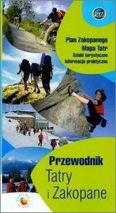 Okładka książki Przewodnik Tatry i Zakopane