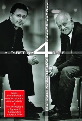 Okładka książki Alfabet na cztery ręce