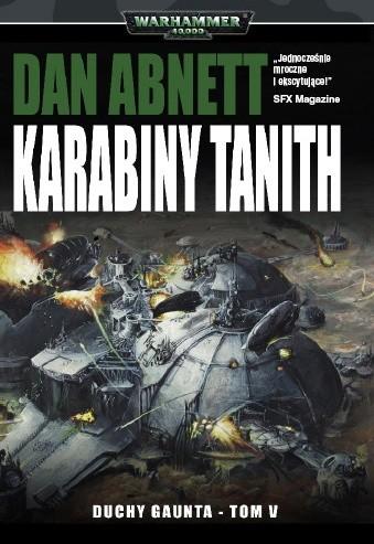 Okładka książki Karabiny Tanith