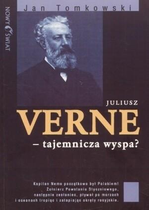 Okładka książki Juliusz Verne - Tajemnicza wyspa?