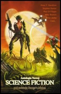 Okładka książki Antologia nowej science fiction