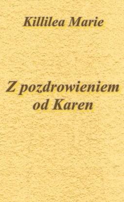 Okładka książki Z pozdrowieniem od Karen