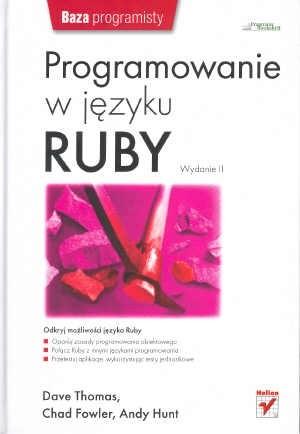 Okładka książki Programowanie w języku Ruby. Wydanie II.