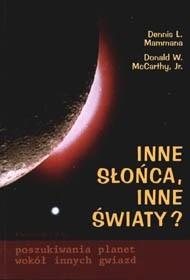 Okładka książki Inne słońca, inne światy? W poszukiwaniu planet wokół innych gwiazd