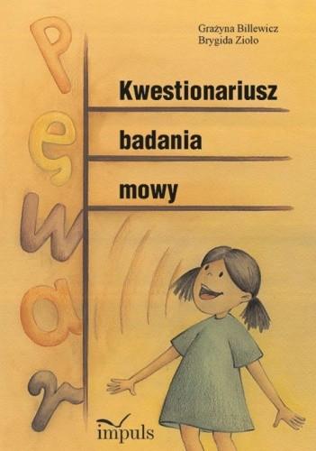 Okładka książki Kwestionariusz badania mowy