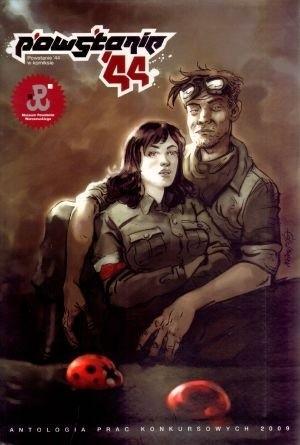Okładka książki Powstanie '44 w komiksie. Antologia prac konkursowych 2009