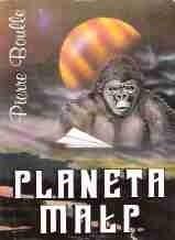 Okładka książki Planeta małp